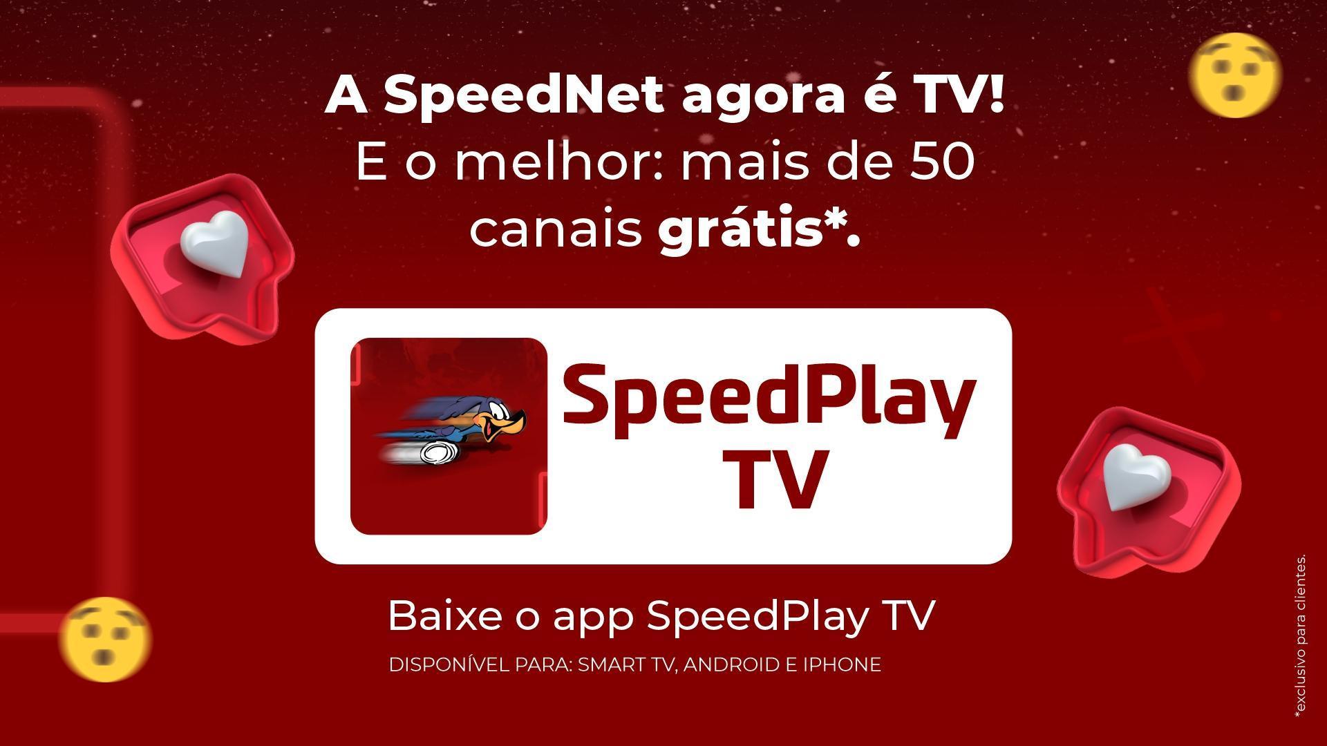 SpeedNetinternet em alta velocidade para seus filmes e seriados, sem travamento.
